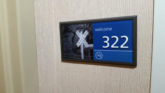 Hampton Inn Rutland/Killington: Outside Room Number