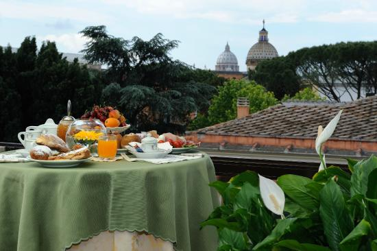 Hotel Farnese: View from Terrace