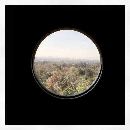 Grand Fiesta Americana Chapultepec: view from the room (7th floor; Castillo de Chapultepec)