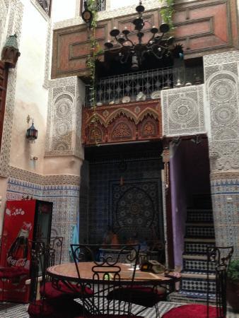 Dar Lalla Kenza: Living room