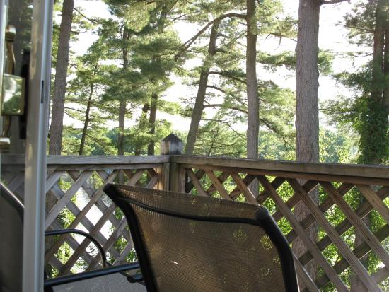 Milford, Мэн: View from back Deck