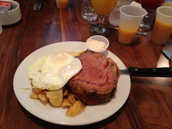 Cafe 615: Brunch - Prime Rib