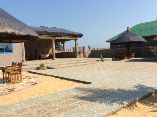 Keta, กานา: Hotel Grounds