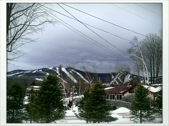 Highline Lodge: This is the view from my room