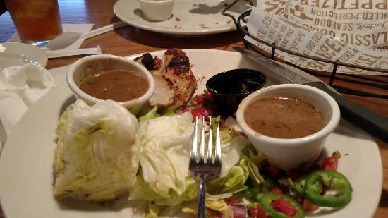 Little or no wait and gluten free menu review of o charley s