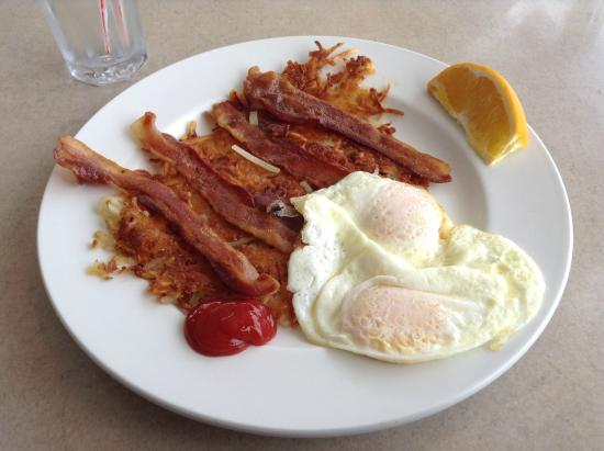 Kimball, MI: Bacon and eggs