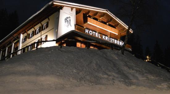 Main building of Hotel Kristberg from Charlet Charlotte