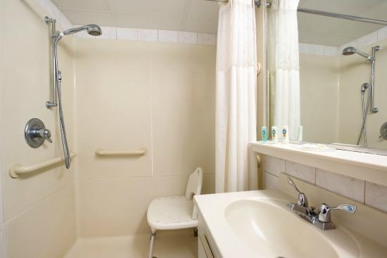 Quality Inn Oceanfront: Guest Bathroom