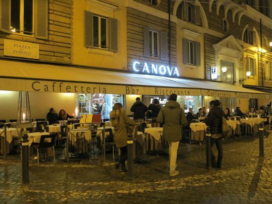 Canova by night