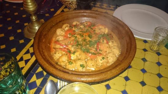 Restaurant Ramsess: Delicioso tagine de pescado, de los mejores que probé en mi vida :)