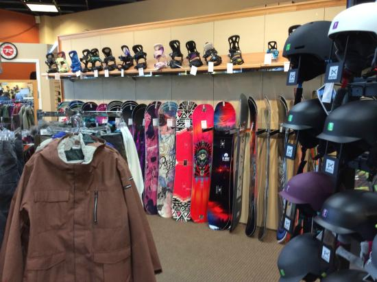 Christy Sports makes reserving your skis and snowboards easier than sliding down a bunny hill. Simply make your reservation, and they'll have your gear ready for you at the convenient location of your choice. Their astute staff will have you fitted and out the door quickly so that you can get started with your ski .