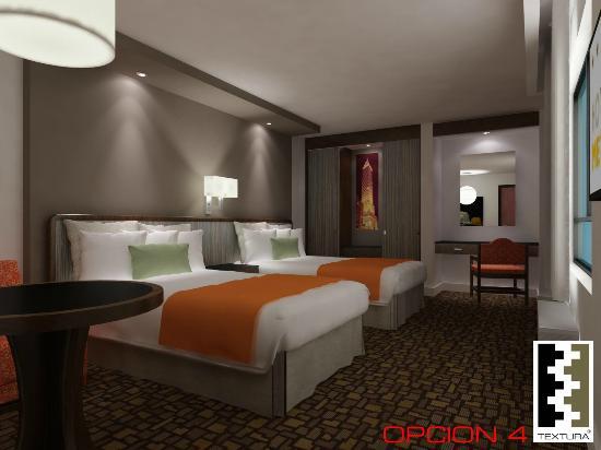 Hotel Metropol: HABITACIONES REMODELADAS