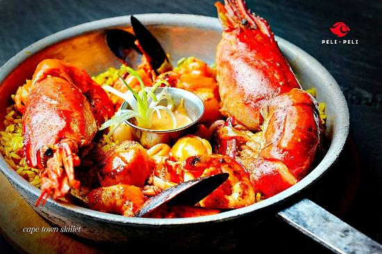 Capetown skillet perfect for seafood lovers picture of for African cuisine restaurant