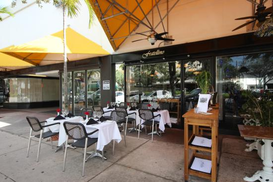 Amazing Restaurant Need Reservations Review Of Fratellino C Gables Fl Tripadvisor