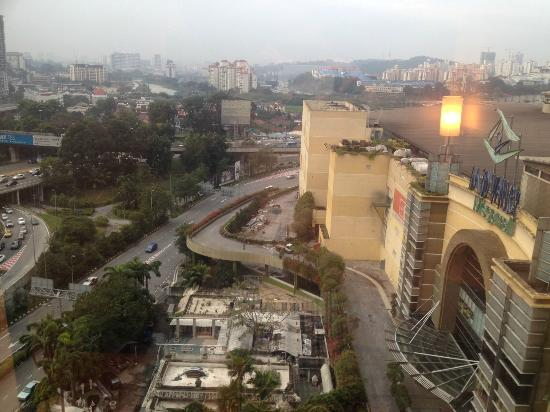 Cititel Mid Valley: View from the room