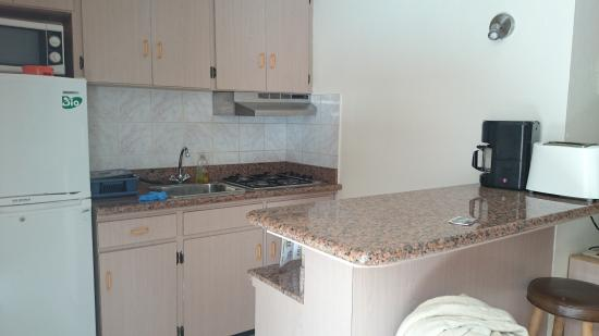 Sasaki Apartments: cocina