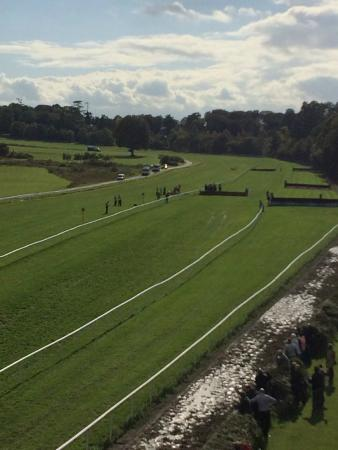 Gowran Park Racecourse: the straight