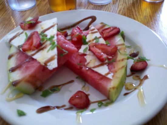 Grant Central Pizza: delicious watermelon appetizer