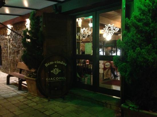 Cantina Giacomel : Entrada do Restaurante