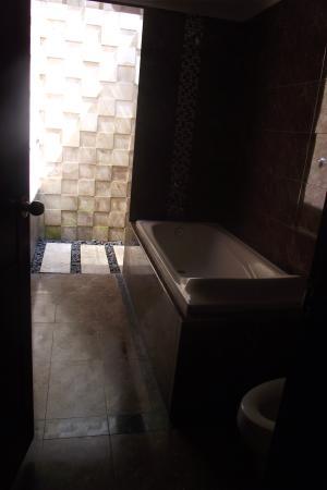 Sindhu Mertha Suite: bathroom with outdoor shower