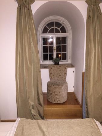Villa Trapp: Fensternische