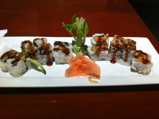 Fuji Japanese Steakhouse : NY roll and sweet potato roll
