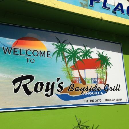 Simpson Bay, St. Maarten/St. Martin: Roy's in Anguilla