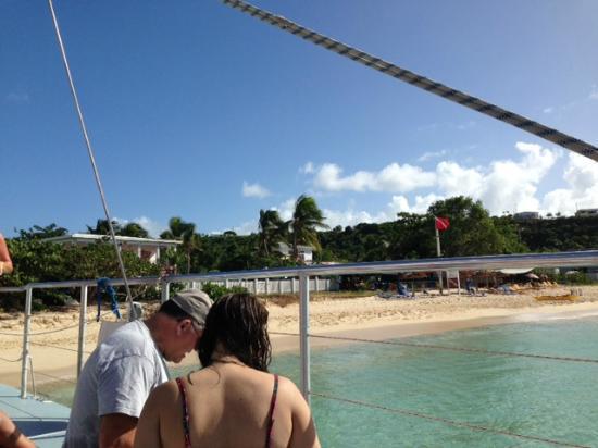 Simpson Bay, Saint-Martin / Sint Maarten: Anguilla