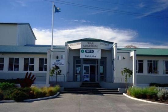 Balclutha, Nya Zeeland: Clutha i-SITE Visitor Centre