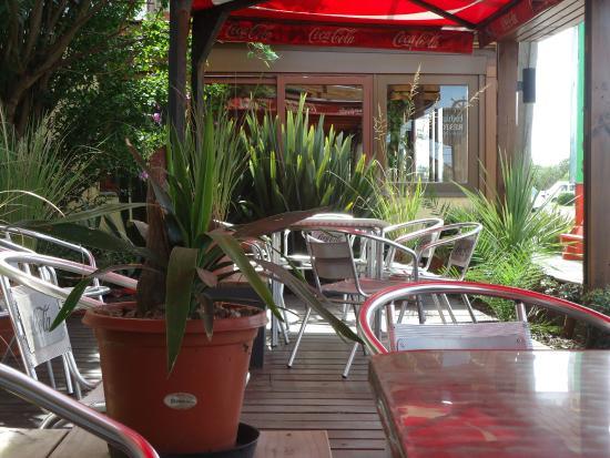 Hotel Bahía: patio