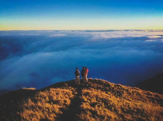 Mt. Pulag National Park: clouds