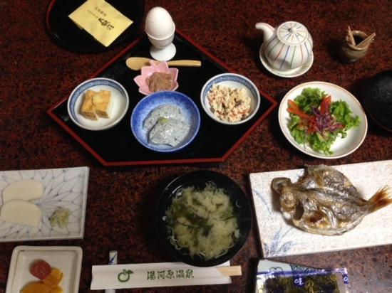 Daikanso : 朝食