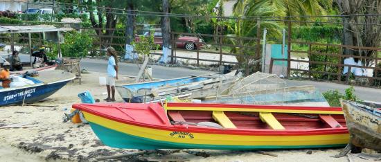 Swordfish Restaurant and Bar: Swordfish fishing boat