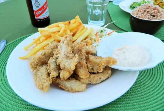 Swordfish Restaurant and Bar: Fish & chips