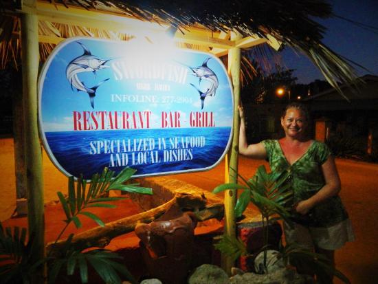 Swordfish Restaurant and Bar: VERY satisfied customer