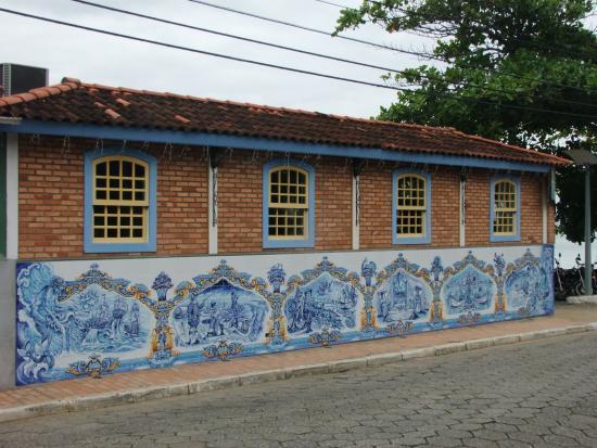 Azulejos na fachada do restaurante foto de ostradamus for Restaurante azulejos