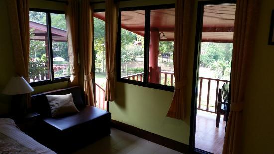 Ban Rai Tin Thai Ngarm Eco Lodge: Вид из номера