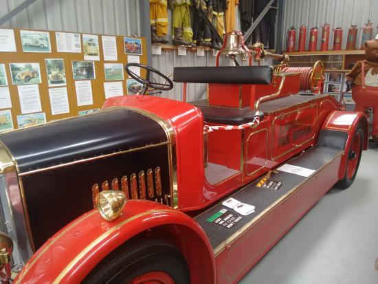 Tasmanian Transport Museum : Fire engine
