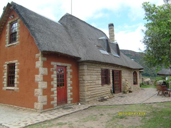 Morija Guest Houses : The main guesthouse