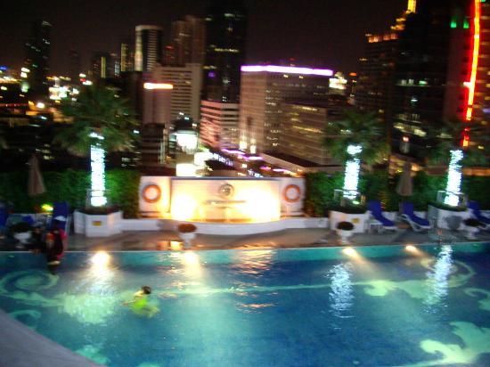 Pool Area Picture Of The Berkeley Hotel Pratunam