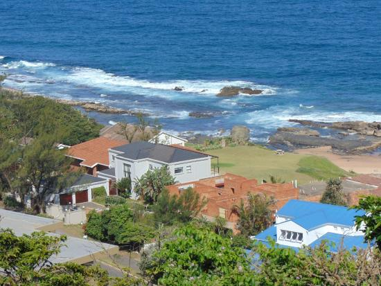 Bed & Breakfast by the Sea: View from the room down to Sheffield Beach