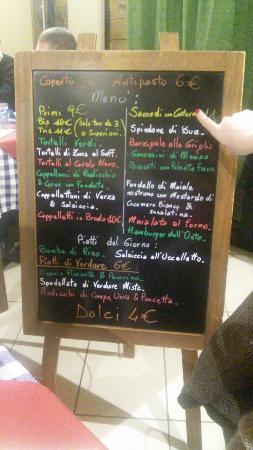 Osteria Chilometro Zero by Tom e Ciccio: Menù e prezzi... !