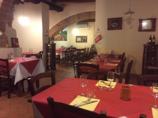 Osteria Ristorante San Quirico : Osteria