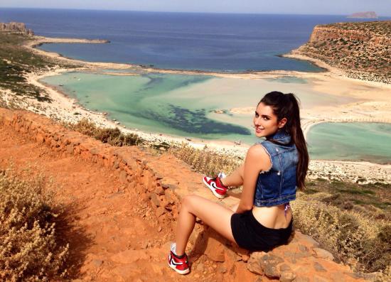 Kissamos, Grecia: Balos beach dall'alto