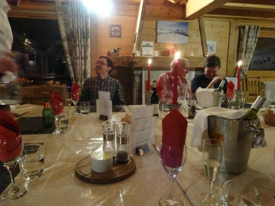AliKats Mountain Holidays - Ferme a Jules : Evening meal