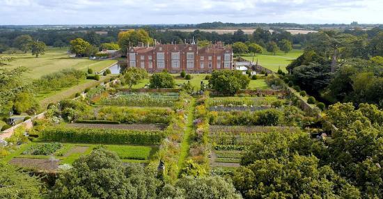 Helmingham Hall Gardens: The Walled Kitchen Garden
