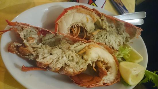 Ristorante Trattoria Andrea Il Pirata: lobster