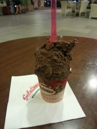 Gelatissimo: Belgian chocolate