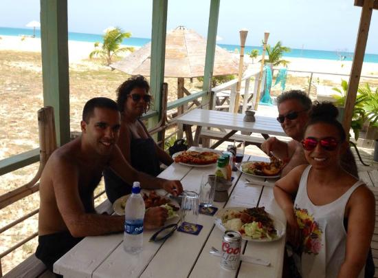 Codrington, Barbuda: Jalahs restaurant