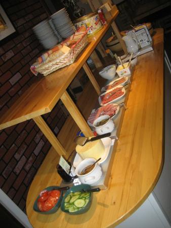 Kvibergs Hostel & Cottages: breakfast